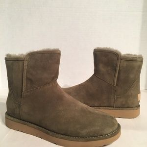 New Ugg Womens Abree Spruce Mini Boots